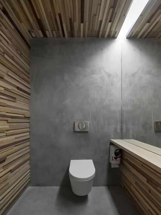 microcemento en el baño