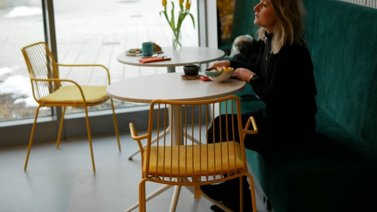 Microcemento en una cafetería